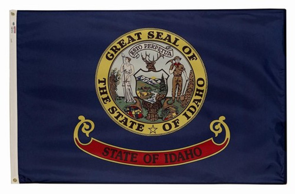 Idaho State Flag 3x5 Feet Spectramax Nylon by Valley Forge Flag 35232120