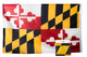 Maryland 4x6 Feet Nylon State Flag Made in USA
