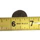 Measuring the flagpole diameter