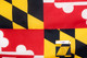 Maryland 5x8 Feet Nylon State Flag Made in USA