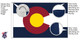 Colorado 8x12 Feet Nylon State Flag Made in USA