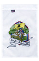 Back side of Unalienable Rights Dont Tread On Me 18inx12in Nylon Garden Flag