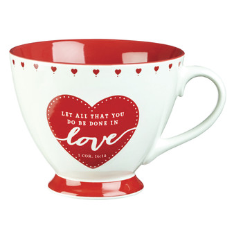 Love Coffee Mug – 1 Corinthians 16:14