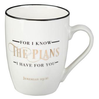 I Know The Plans Coffee Mug – Jeremiah 29:11
