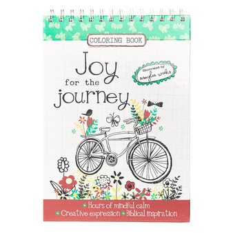 Joy For The Journey Adult Coloring Book
