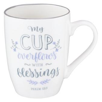 My Cup Overflows Coffee Mug - Psalm 23:5