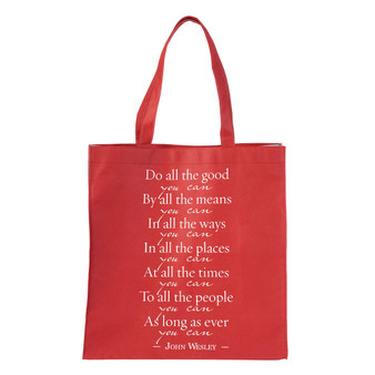 Do All The Good You Can - John Wesley Tote Bag