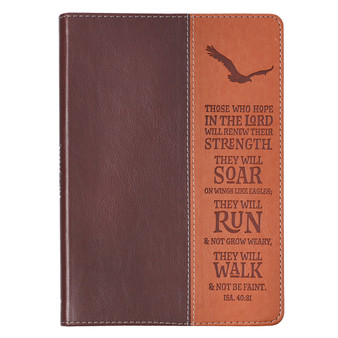 Wings Like Eagles Classic LuxLeather Journal