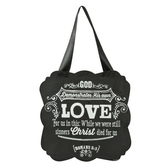 Chalkboard Collection: Love Wooden Hanging Plaque