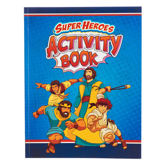 Super Hero's Activity Book