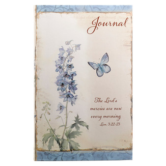 The Lord's Mercies in Floral Flexcover Journal