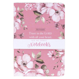 Trust in the Lord Notebook Set - Proverbs 3:5