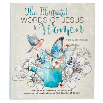 Illustrated Words of Jesus for Women Devotional by Carolyn Larsen
