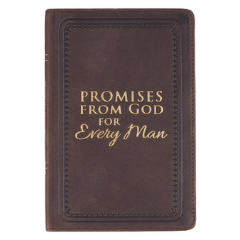 Promises from God for Every Man - Full Grain Leather Edition