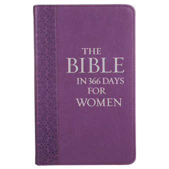 The Bible in 366 Days for Women Devotional - Purple