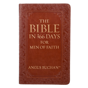 The Bible in 366 Days for Men of Faith Devotional by Angus Buchan