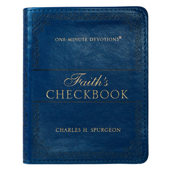 Faith's Checkbook LuxLeather Edition