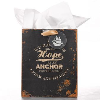Medium Gift Bag: Hope As An Anchor - Heb 6:19