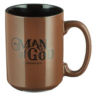 Man of God Coffee Mug - 1 Timothy 6:11