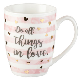 Do All Things in Love Coffee Mug - 1 Corinthians 16:14