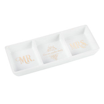 Mr and Mrs Collection - 1 Peter 1:22 Porcelain Trinket Tray
