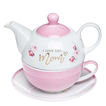I Love You, Mom Tea Set for One
