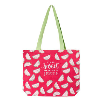 'Tis So Sweet Canvas Tote