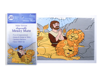 Daniel & The Lions Den Messy Mats