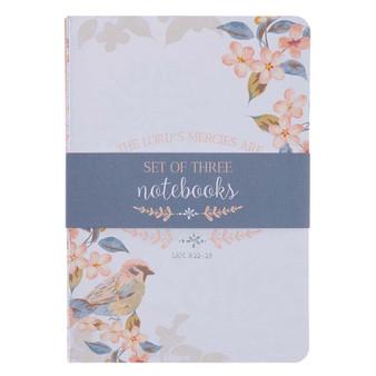 His Mercies Are New Medium Notebook Set - Lamentations 3:22-23