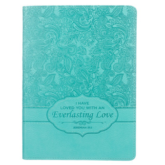 Everlasting Love Handy-sized Journal- Jeremiah 31:3