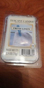 Fresh Linen Soy Wax Melts