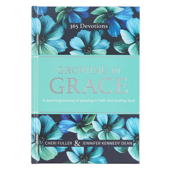 Growing in Grace Daily Hardcover Devotional