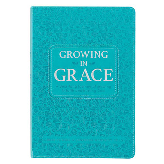 Growing in Grace Faux Leather Daily Devotional