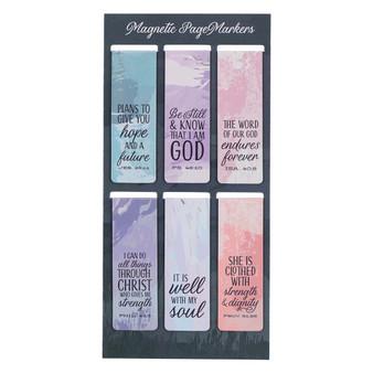 Scenic Magnetic Bookmark Set