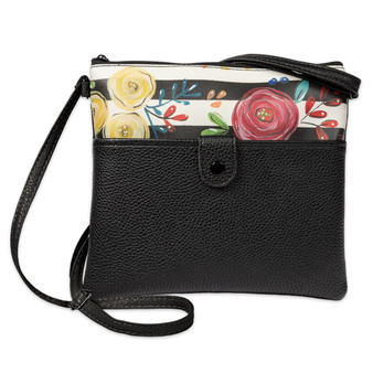 Bella Caroline Black Crossbody Bag