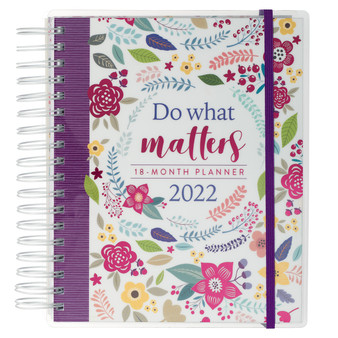 Do What Matters Wirebound 18-month Planner For Women
