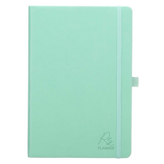 Mint Green Faux Leather Rolene Strauss Undated Planner