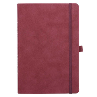 Merlot Faux Leather Baxter Undated Planner