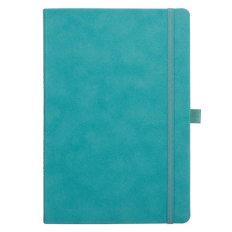 Teal Faux Leather Baxter Undated Planner
