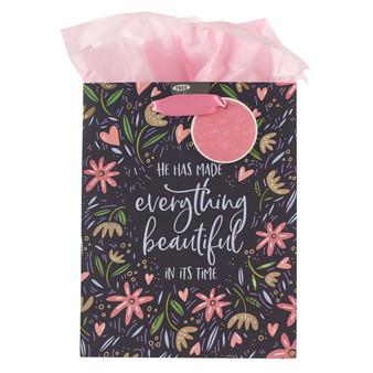 He Has Made Everything Beautiful Medium Gift Bag - Ecclesiastes 3:11