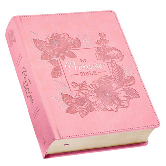 Pink Hardcover Faux Leather My Promise Bible