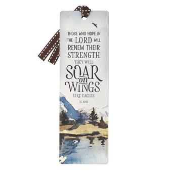 Soar Premium Cardstock Bookmark - Isaiah 40:31