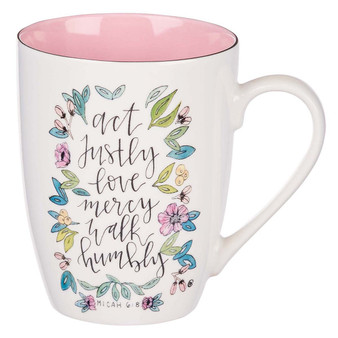 Act Justly Ceramic Coffee Mug - Micah 6:8