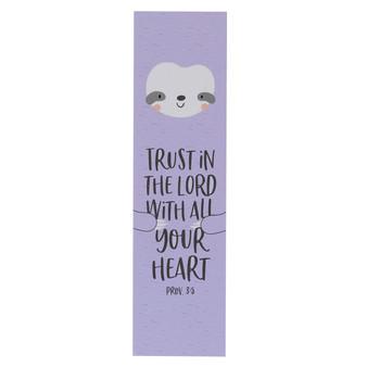 Trust in the LORD Sunday School/Teacher Bookmark Set - Proverbs 3:5