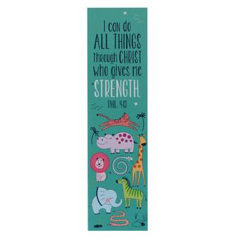 I Can Do All Things Sunday School/Teacher Bookmark Set - Philippians 4:13