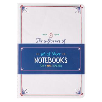For a #1 Teacher Large Notebook Set