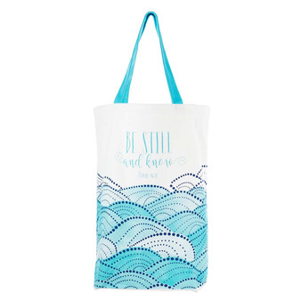 Be Still & Know Canvas Tote Bag - Psalm 46:10