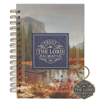 Trust in the LORD Journal and Key Ring Boxed Gift Set - Isaiah 26:4