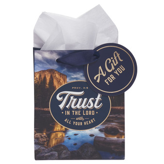 Trust in the Lord Extra Small Gift Bag – Proverbs 3:5