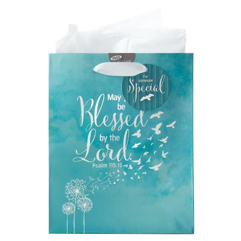 May You Be Blessed - Psalm 115:15 Medium Gift Bag